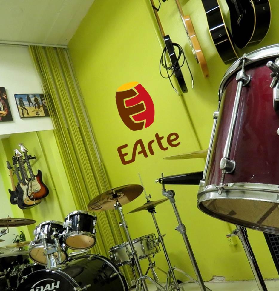 Sala da bateria na EArte Sogipa