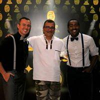 Nosso diretor Maestro Luiz André da Silva, ladeado pelos coordenadores Misael Jacobus e Josué Oliveira